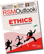 RSM Outlook magazine is managed by The English Editors
