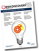 RSM Discovery magazine is managed by The English Editors