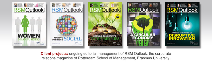 Editorial management of RSM Outlook magazine